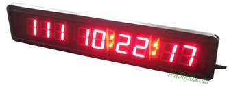 1.8inch day,hours,minutes and seconds  led countdown clock(HIT9-1.8R)