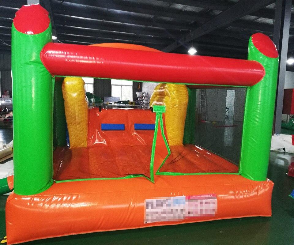 Trampoline gonflable de cadeau de parc d'attractions d'équipement de terrain de jeu d'intérieur de maison de rebond pour des enfants