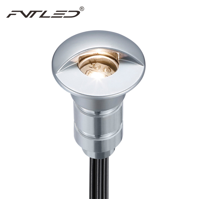 (male and female connector) 10pcs/lot 12V Waterproof Floor Decking Light Recessed Step Light Outdoor Warm White 3000K Floor Lamp