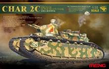 Meng model TS 009 1 35 CHAR 2C FRENCH SUPER HEAVY TANK plastic model kit