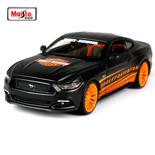 Maisto 1 24 Harley 2015 Ford Mustang Gt Modern Muscle Diecast Model