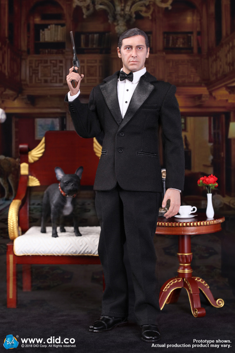 1 6 Chicago the Godfather Figure Doll Toys Figure Full Set for Collection Normal Vision Deluxe Edition in Action Toy Figures from Toys Hobbies