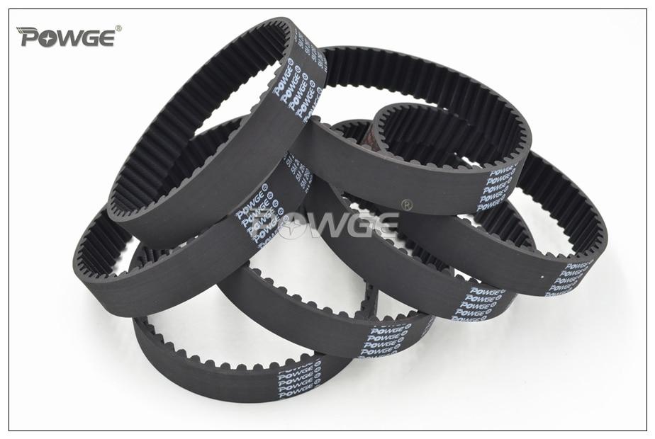 RobotDigg 340-5M-15 Endless HTD5M Belt 340mm Length 68 Teeth 5M Synchronous Belt 5mm Pitch 15mm Width HTD5M Closed Loop Timing Belt Pack of 2pcs