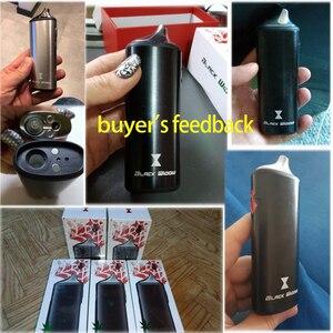 Image 2 - Original Kingtons Dry Herb Vaporizer Vape Kit Herbal 2200mAh Black Widow Box Mod Wax Vape Kit Ceramic heating vs Pathfinde V2