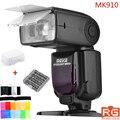 Meike MK-910 MK910 MK 910 i-TTL Flaş Speedlight 1/8000 s HSS Nikon D7100 D7000 D5300 D5200 D5100 D3200 D3100 için Master D3000