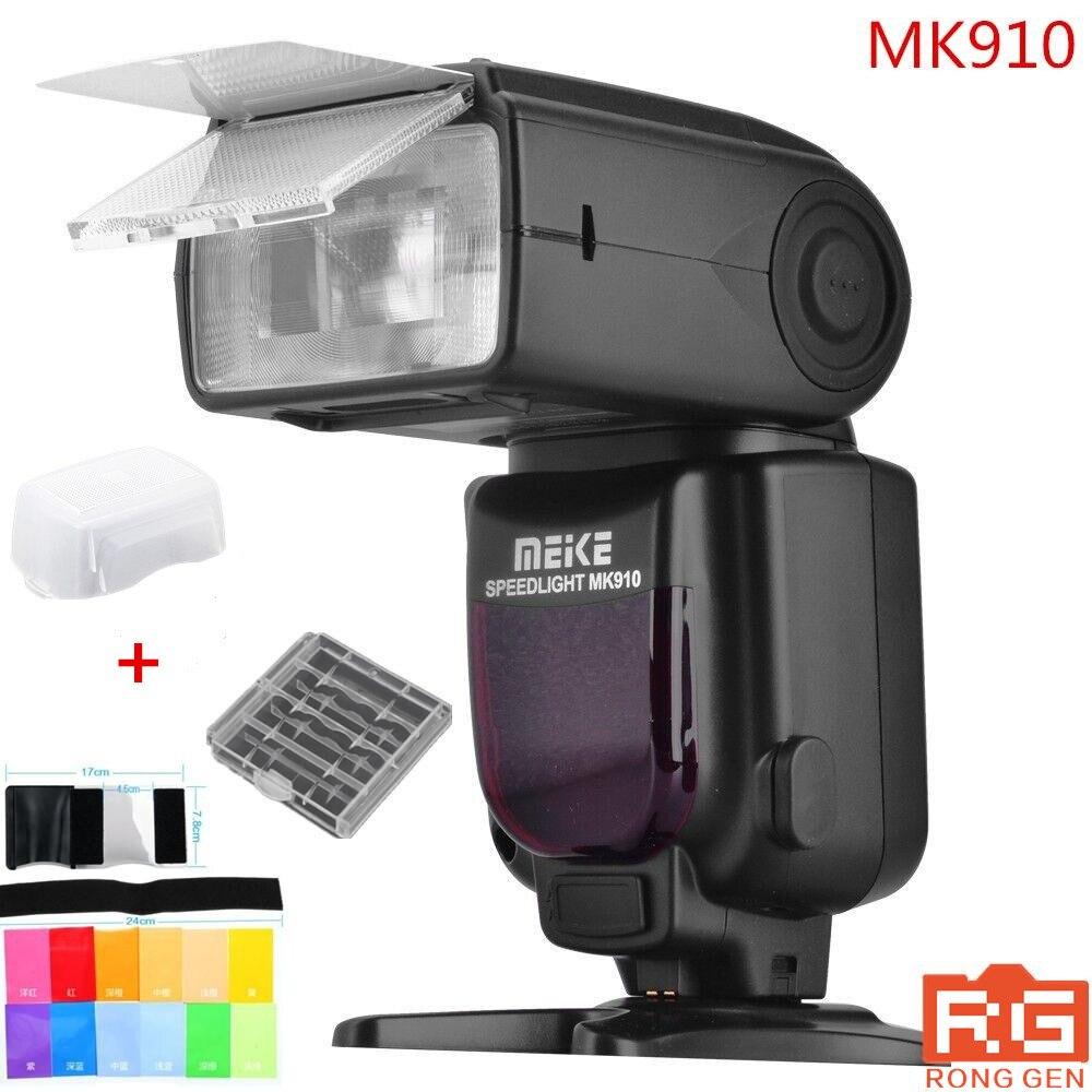 Meike MK-910 MK910 MK 910 je-TTL Flash Speedlight 1/8000 s HSS maître pour Nikon D7100 D7000 D5300 D5200 D5100 D3200 D3100 D3000