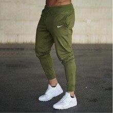 Мужские повседневные штаны одноцветное тренажерный зал Штаны Спортивная Jog Спортивные штаны Для мужчин кроссовки ругань Футбол брюки джоггеры пот Штаны
