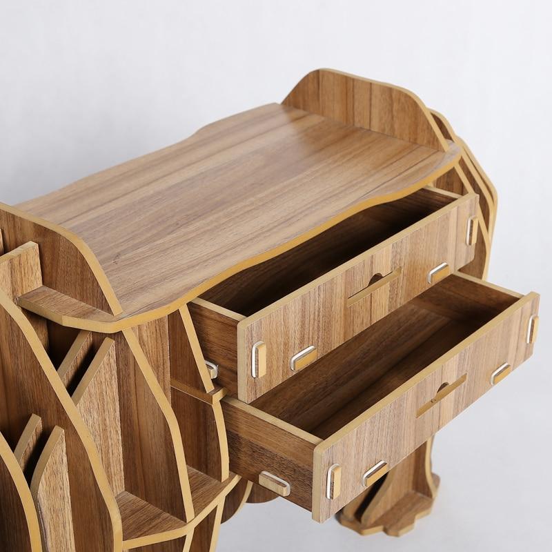 Animal Multi Purpose Furniture DIY creative wood crafts rhino