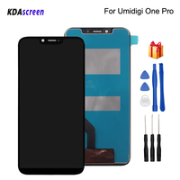 For UMI UMIDIGI One Pro LCD Display Touch Screen Digitizer Replacement For UMI One Pro Display Screen LCD Phone Parts Free Tools