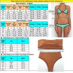 Комплект бикини 2018, летний купальник, бикини, женский сексуальный пляжный купальник, купальный костюм, пуш-ап, Бразильское бикини, Maillot De Bain 6