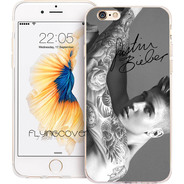 coque iphone 8 silicone tatouage