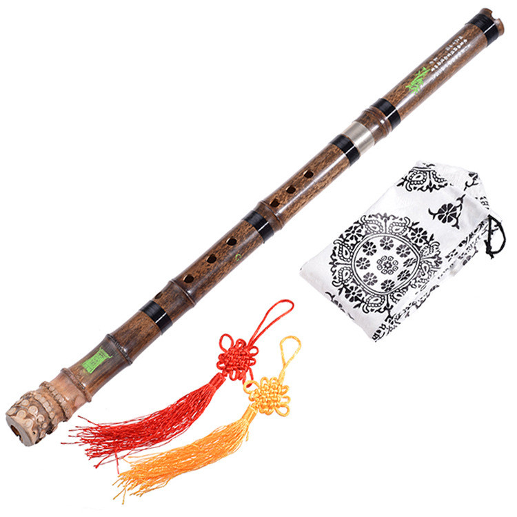 Professional 8 Holes Xiao Flute Handmade Purple Bamboo G F Key  цены