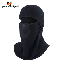 Winter Cycling Face Mask Cap Ski Bike Mask Face Thermal Fleece Snowboard Hat Motorcycle Balaclava Bicycle Face Mask Ski Scarf недорого