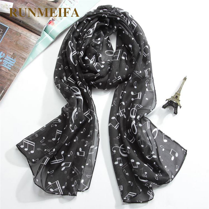 2018 Newest Women Feather Printed Scarf Printed Quality Chiffon Voile Fringe Scarf Free Shipping Colorful Printed Sweet Cartoon
