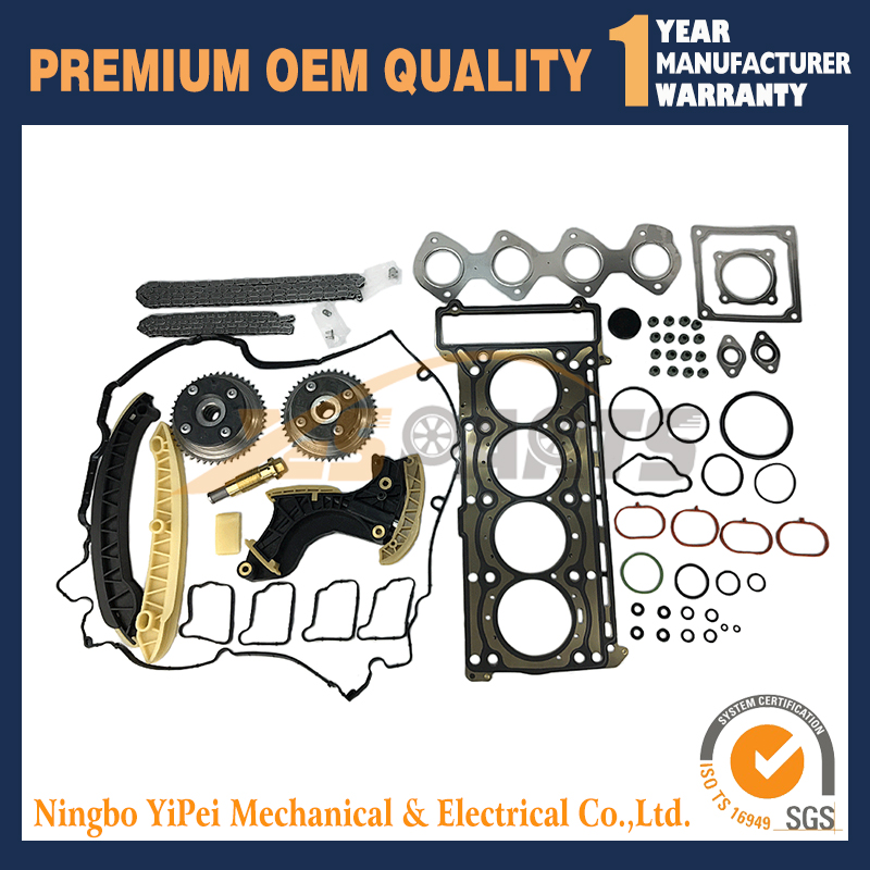 Buy Camshaft Adjuster Timing Chain Kit For Mercedes M271 W203 W211 W204 A2710501247 A2710501447 2710500800 2710500900 for only 299 USD