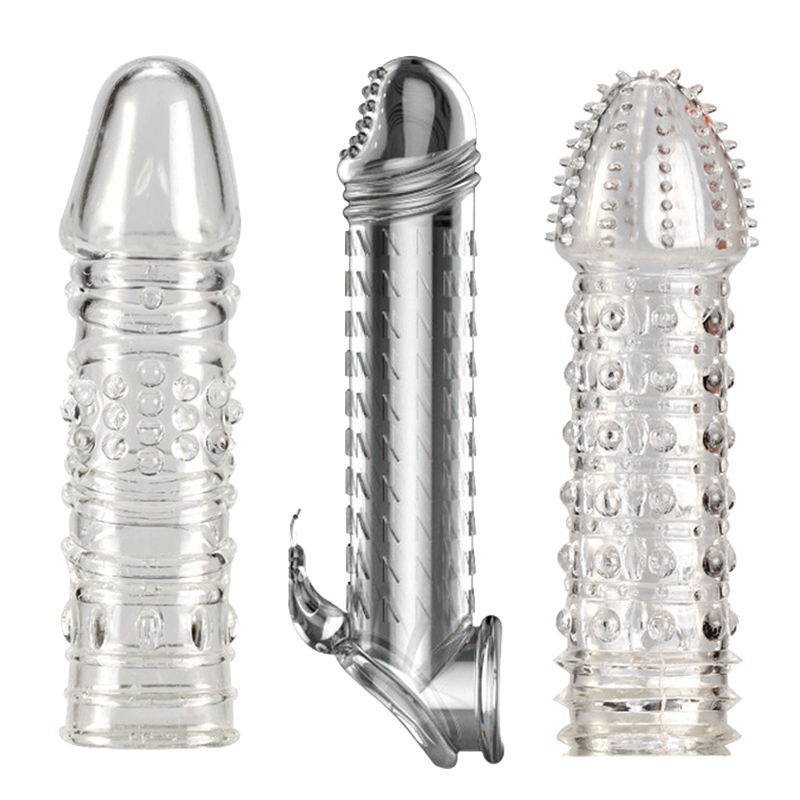Qtto Spike Set Crystal Set Condom Delay Set Male Toy in Vibrators from Beauty Health