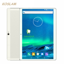 2017 New 3G Android 6.0 Tablets PC Tab Pad 10.1 Inch IPS Screen Quad Core 1GB RAM 16GB ROM Dual SIM Card WIFI GPS 10.1″ Phablet
