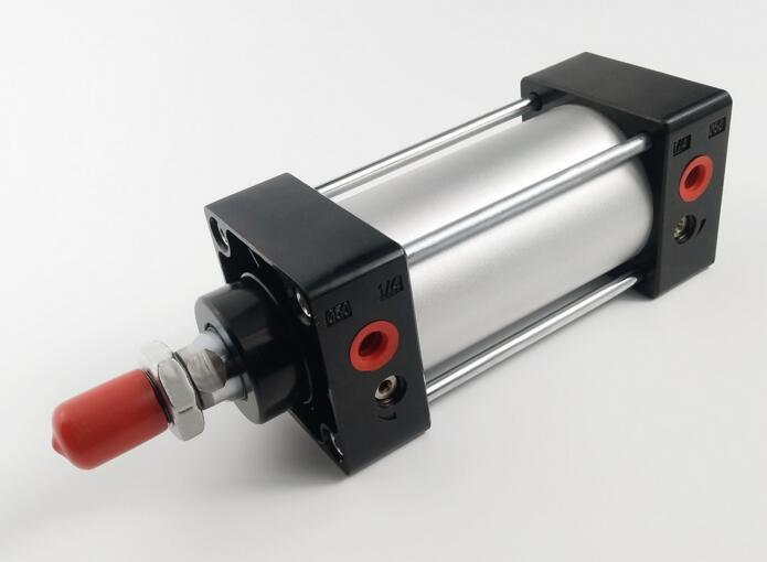 Bor size 80*100mm stroke SC series Pneumatic double Acting Standard Air Cylinder su63 100 s airtac air cylinder pneumatic component air tools su series