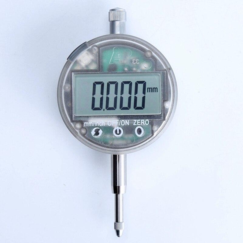 """IP54 a prueba de aceite micrómetro Digital 0.001mm electrónicos Li batería métrica/pulgadas 0 12,7mm/ medidor de indicador de Dial táctil de 0,5""""-in Relojes comparadores from Herramientas on AliExpress - 11.11_Double 11_Singles' Day 1"""