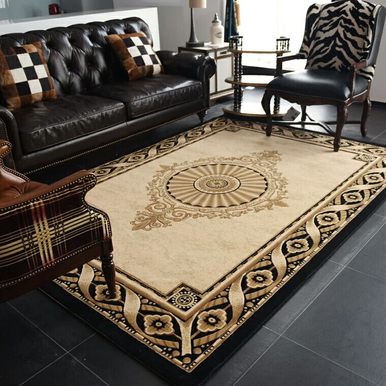 Pastoral Carpet New Chinese Living Room Carpets Coffee