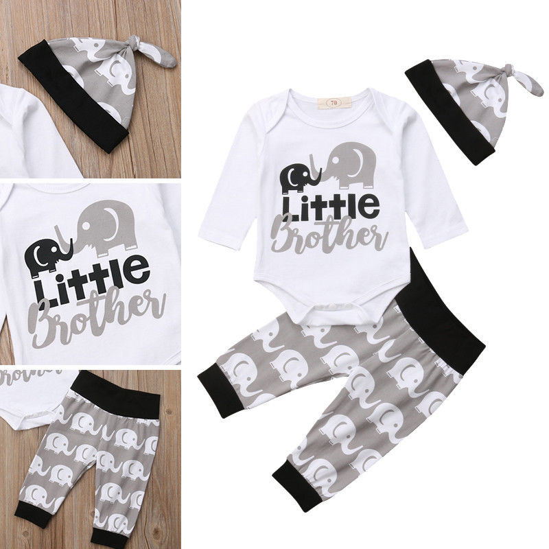 Newborn Kids Baby Boy Girl Clothes Pullover Letter Print Round Neck T-shirts Or Toddler Short Sleeve Cotton Bodysuit One Pieces Mother & Kids