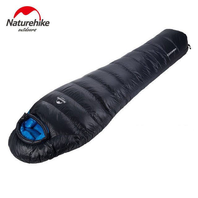 NatureHike-New Super light Outdoor Down Mummy Type Duck Winter  Sleeping Bag