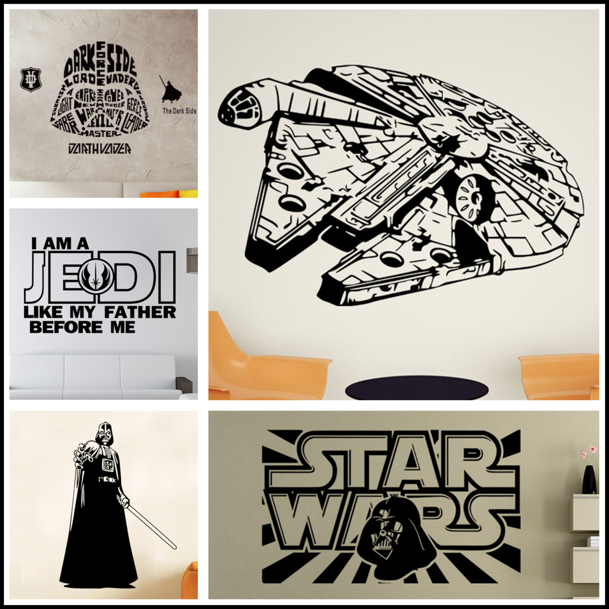 Online Buy Wholesale Star Wars Wallpaper From China Star Wars