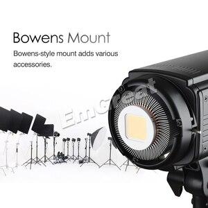 Image 5 - Godox SL 150W 150 ワット 5600 18K CRI 93 + 16 チャンネル LED スタジオ連続ビデオライト Bowens 一眼レフカメラ用カメラとリモコン