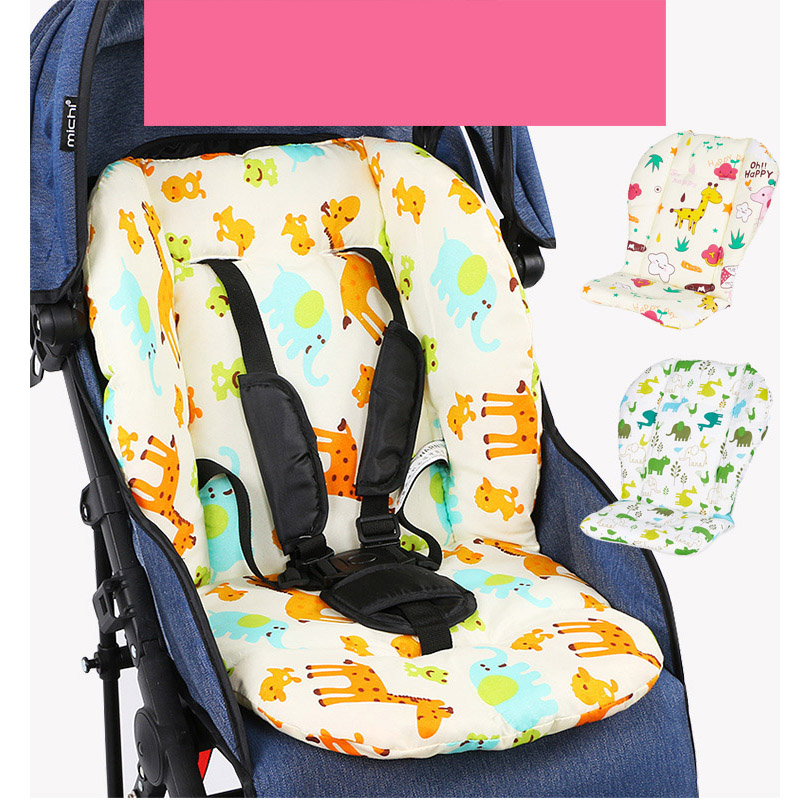 Baby Stroller Accessories  Comfortable Baby Seat Pad Covers Universal Stroller Seat Four Seasons Soft Seat Cushion