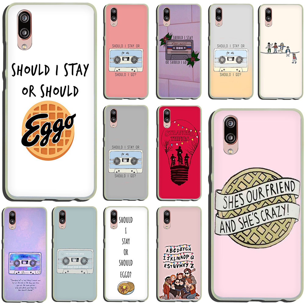 should stay should <font><b>Stranger</b></font> <font><b>Things</b></font> Hard <font><b>Phone</b></font> <font><b>Case</b></font> for <font><b>Huawei</b></font> P30 P10 Plus <font><b>P20</b></font> <font><b>Lite</b></font> Mini 2016 2017 Pro P smart 2019 image
