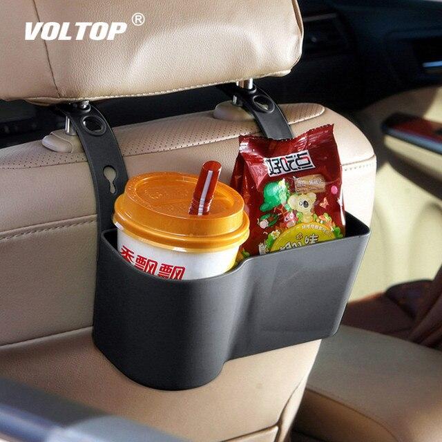 سيارة كأس المنظم حامل المشروبات حاملي اكسسوارات السيارات متعددة الوظائف الغذاء رفوف مقعد الخلفي قابل للتعديل السيارات لوازم