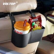 Organisateur de voiture porte gobelet porte boissons accessoires de voiture étagères de nourriture multifonctions siège arrière réglable fournitures Automobiles
