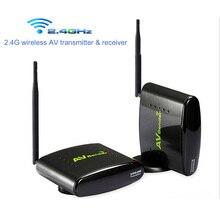 2 4G AV Sender Wireless Transmitter Receiver 350M AV Audio Video TV Transmitter for DVD