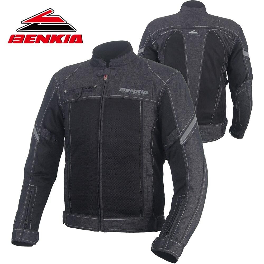 Us116 Kleidung Mit Motocross Motorrad Jacke Chaqueta Protektoren benkia Aus Racing Jacken Stil Js18 49Off 0 Retro In Moto CodxreB