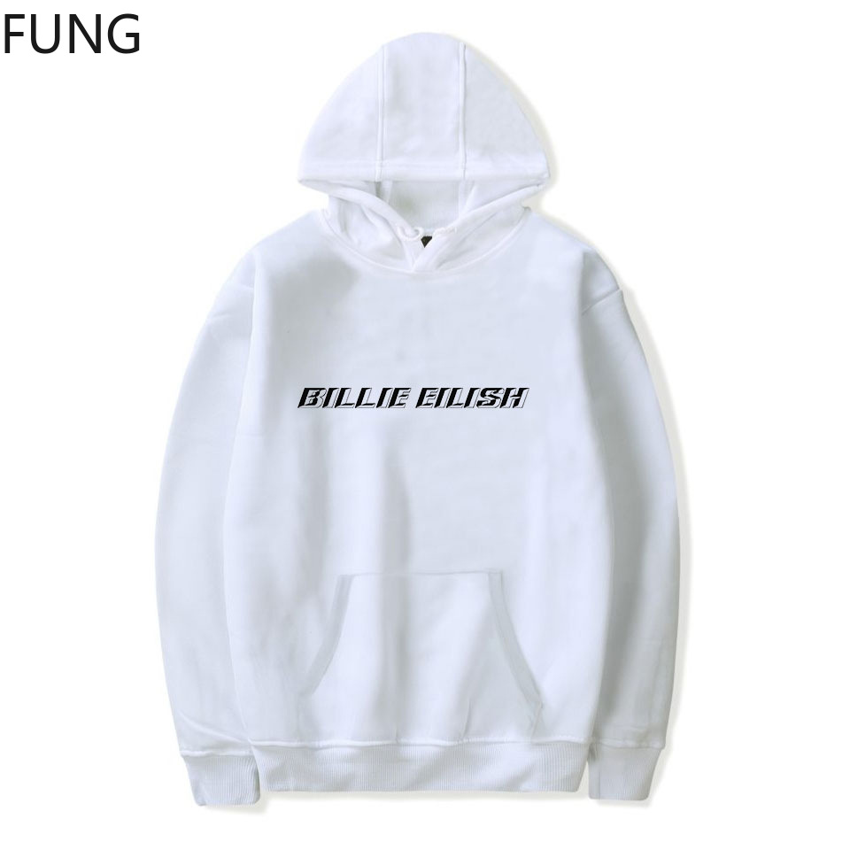 FUNG Billie Eilish Hoodies Sweatshirts Women/Men Clothing 2019 New Arrival Casual Harajuku Hooded Pullover Hoodies Women C00002