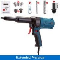 TAC500 電動工具電動リベットエアガン工業グレード電気リベット銃リベット銃リベットマシンコアとロング口