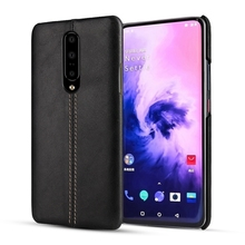 Original Genuine Leather Slim Case For Oneplus 7 Pro One Plus 7Pro Oneplus7 Phone Luxury Vintage Matte Hard Cover Solque