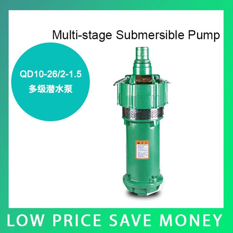 3m3/h Electric Water Pump Irrigation Pump 220V 1.1kw Submersible Deep Water Pump