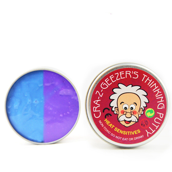 Novelty creative Toys Discolor Bounce Plasticine Putty Intelligent Heat Putty Educational Thinking Clay Adult Stress Relief Toy