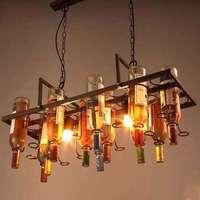 Творческий Лофт ресторан бар кафе бар Гостиная декоративная бутылка персонализированные художественной Дизайнер подвесной светильник