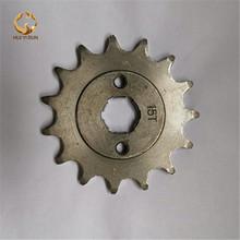 Zębatka przednia silnik 520 #15 zębów 20mm dla 520 łańcuch z płyty szafki motocykle Dirt Bike PitBike ATV quad części tanie tanio 0 18kg Steel Koła HUIYIRUN Iso9001 0 5cm