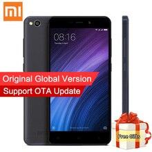 Оригинал xiaomi redmi 4а 4 pro 2 ГБ 32 ГБ смартфон глобальной ROM Snapdragon 425 Quad Core 5.0 Дюймов 13MP Камера MIUI8.1 ОТА обновление