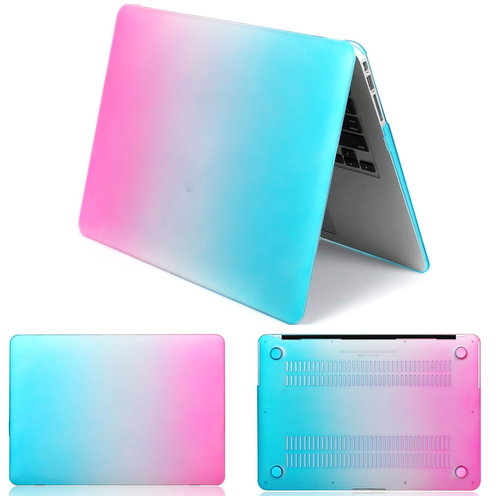 case For macbook Pro Rainbow Cover For mac book air 11 Air 13 15 Pro13 15 Retina case laptop bag For macbook 13 3 Laptop Case in Laptop Bags Cases from Computer Office