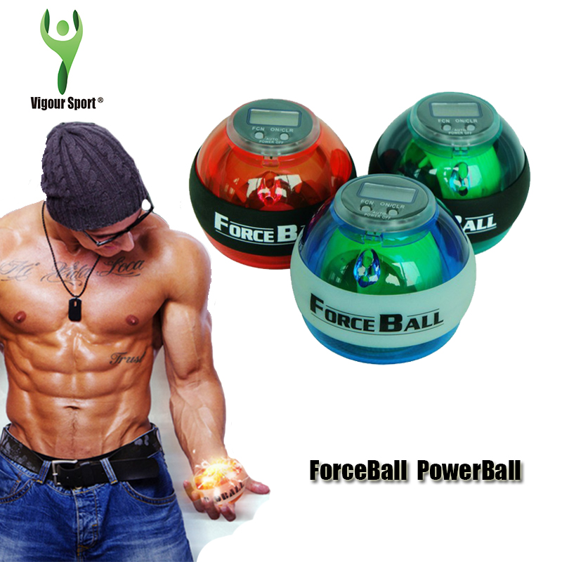Powerball to Strengthen Our Arms