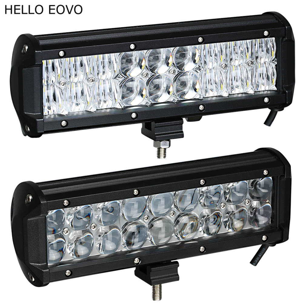 HELLO EOVO Real Power 4D 5D 9 5 Inch LED Light Bar for Work Indicators Driving