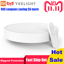 Xiaomi Yeelight Smart Ceiling Light Lamp Remote APP WIFI Bluetooth Double Control Smart LED Colorfull IP60 Dustproof