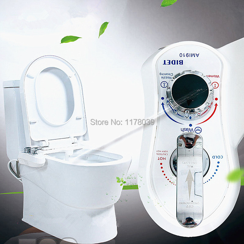 manual bidet withself cleaning retractable nozzle bidet spray wash women butt ass vaginal male enema nozzle