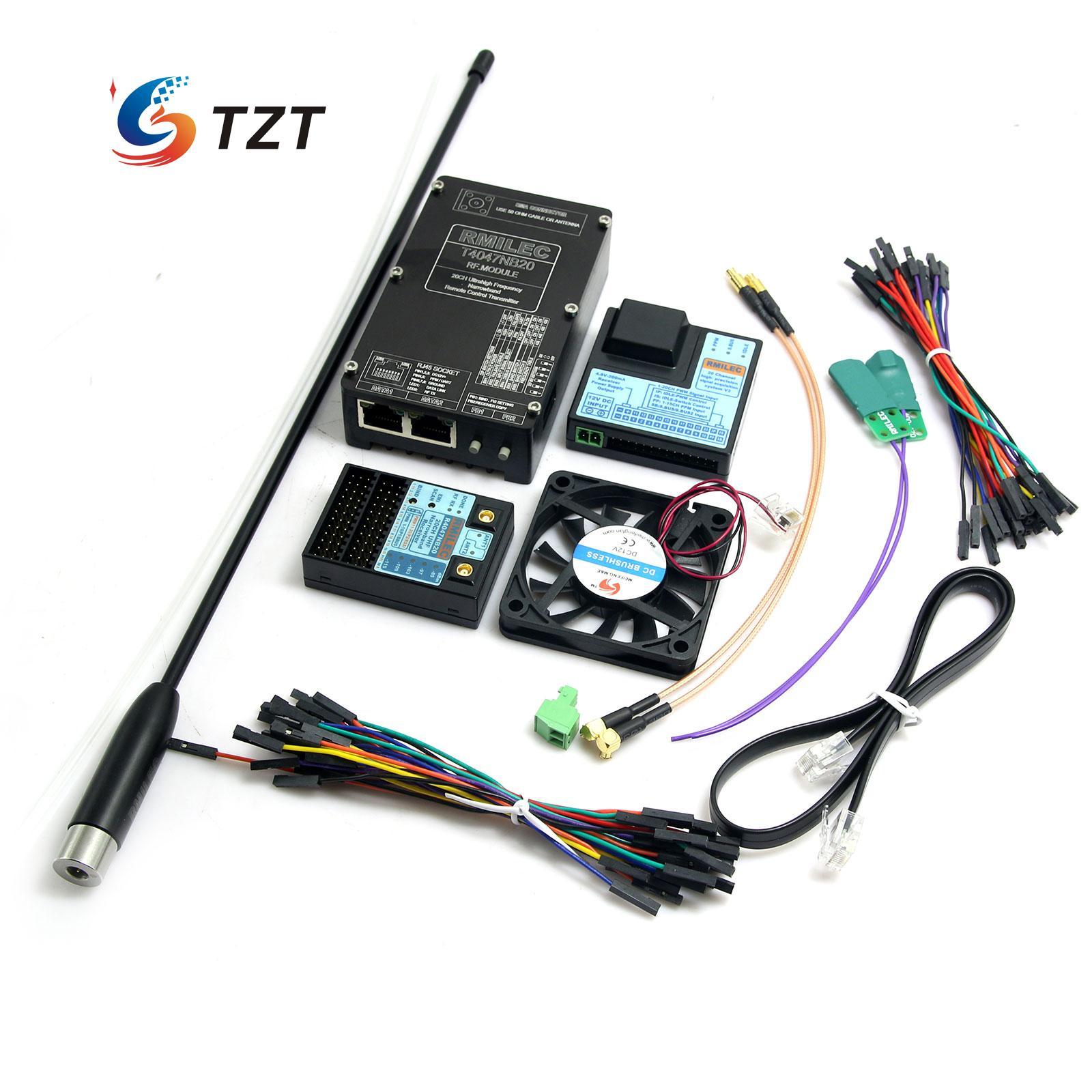 FPV 433mhz Transmitter Receiver UHF Tx Rx 20CH RF Remote Control System RMILEC NB20