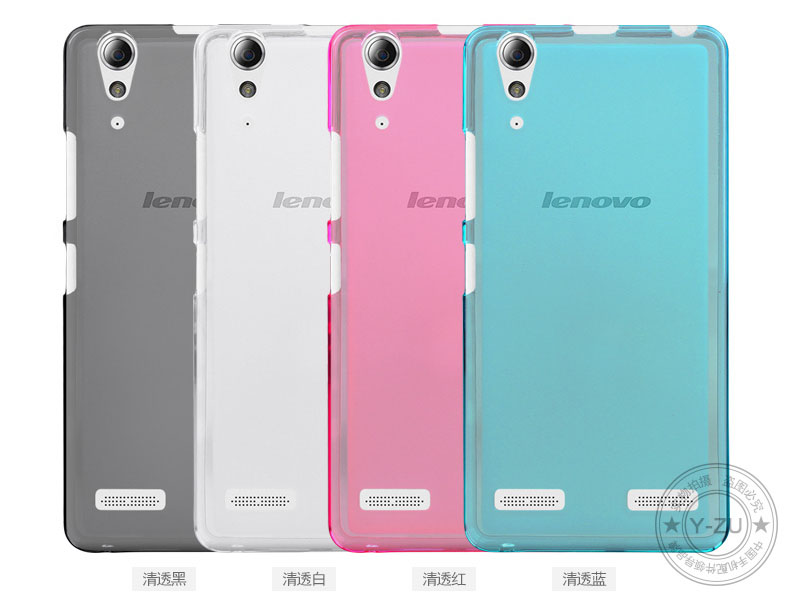 Lenovo A6010 Case Cover 5 Inch High Quality TPU Soft Phone For Back 4 Colors A 6010 In Half Wrapped From