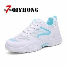 Súper zapatos de fuego mujer 2018 primavera y otoño nueva plataforma de microfibra de malla zapatos planos de gama alta tamaño femenino 35-40